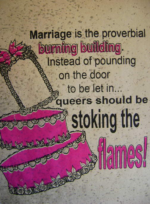 Homosexual marriage images quotas